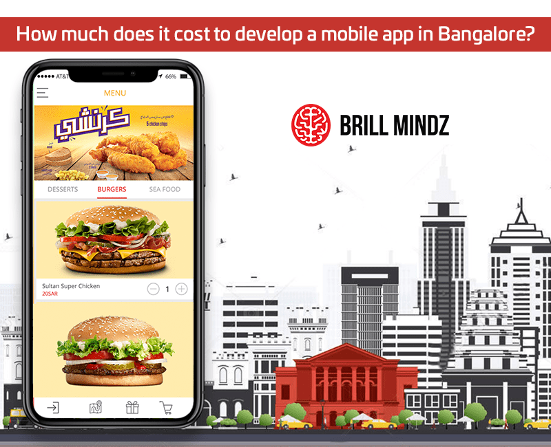 How much does it cost to develop a mobile app in Bangalore