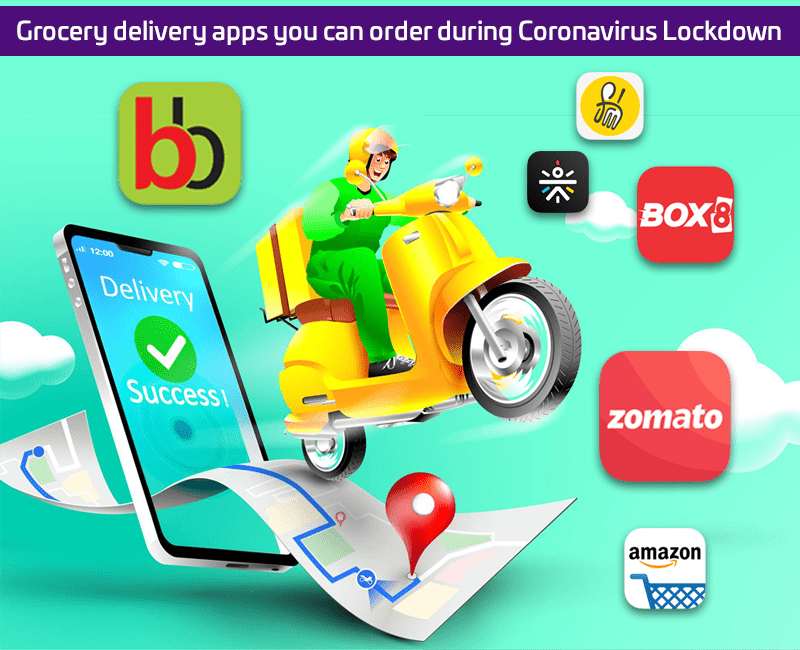 Grocery delivery apps you can order during Coronavirus Lockdown in India