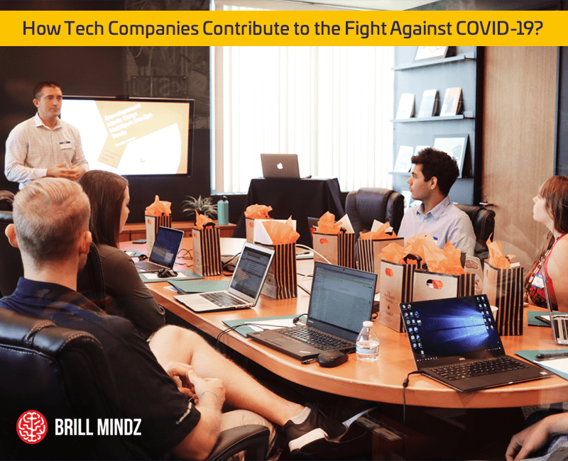 How Tech Companies Contribute to the Fight Against COVID-19?