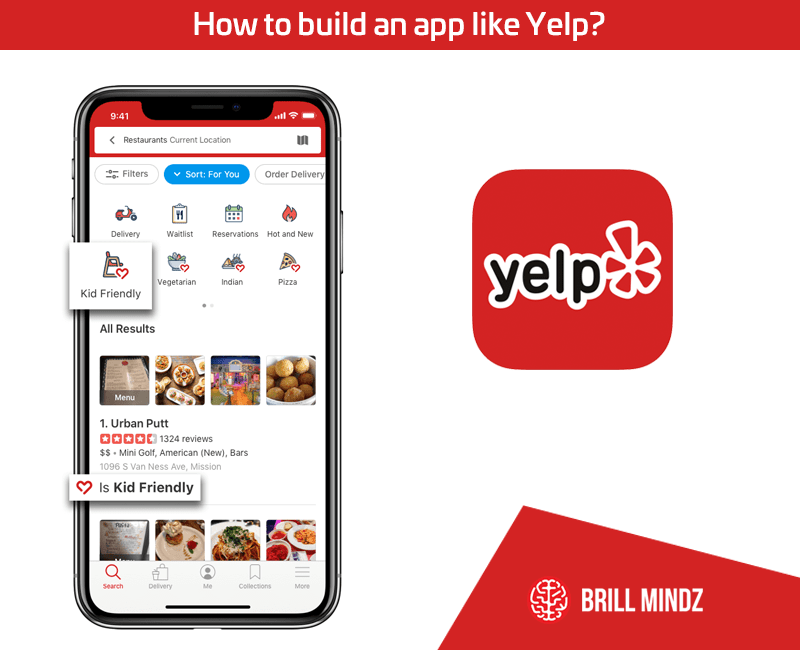 How to build an app like yelp?