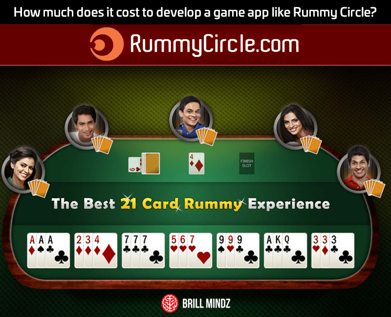 How much does it cost to develop a game app like Rummy Circle?
