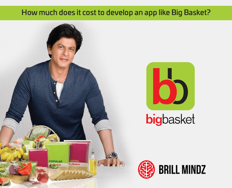 How much does it cost to develop an app like Big Basket?
