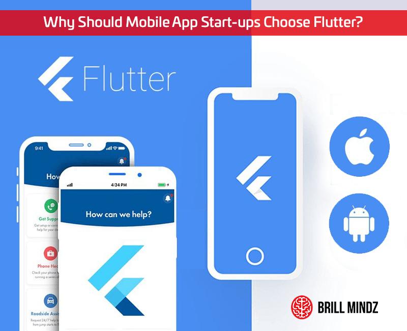 Why Should Mobile App Start-ups Choose Flutter?