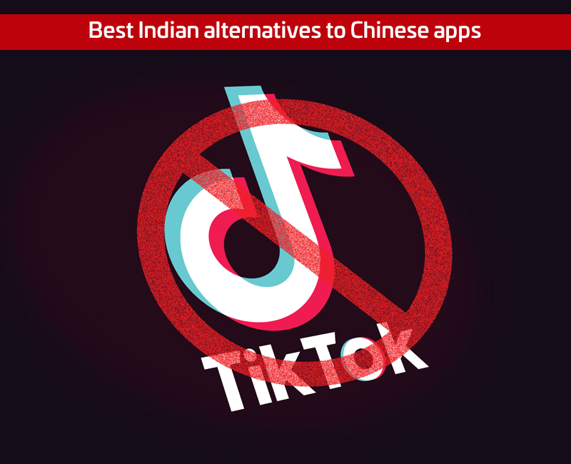 Indian alternatives to Chinese apps India