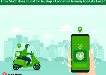 Cost to Develop a Cannabis Delivery App Like Eaze
