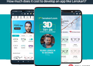How much does it cost to develop an app like Lenskart?