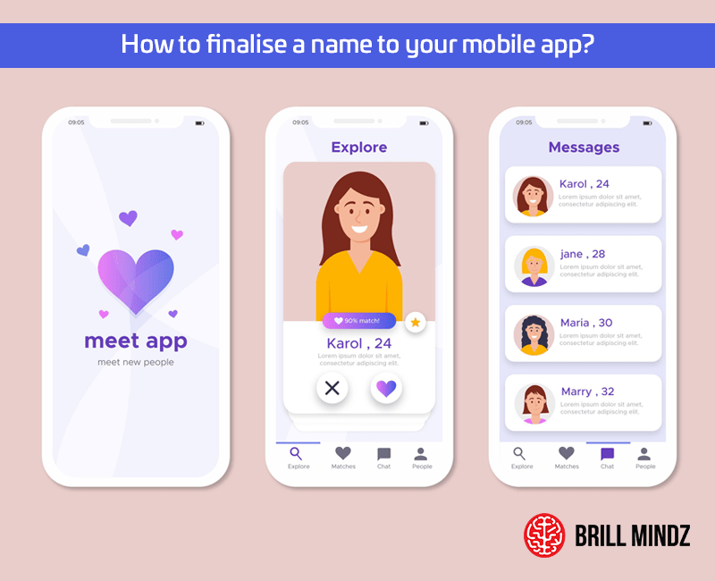 How to finalise a name to your mobile app?