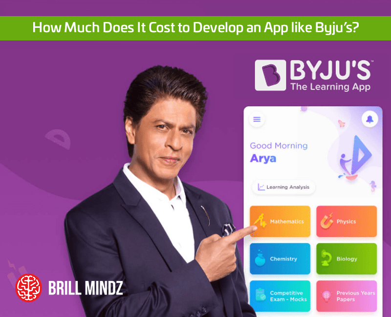 How Much Does It Cost to Develop an App like Byju's