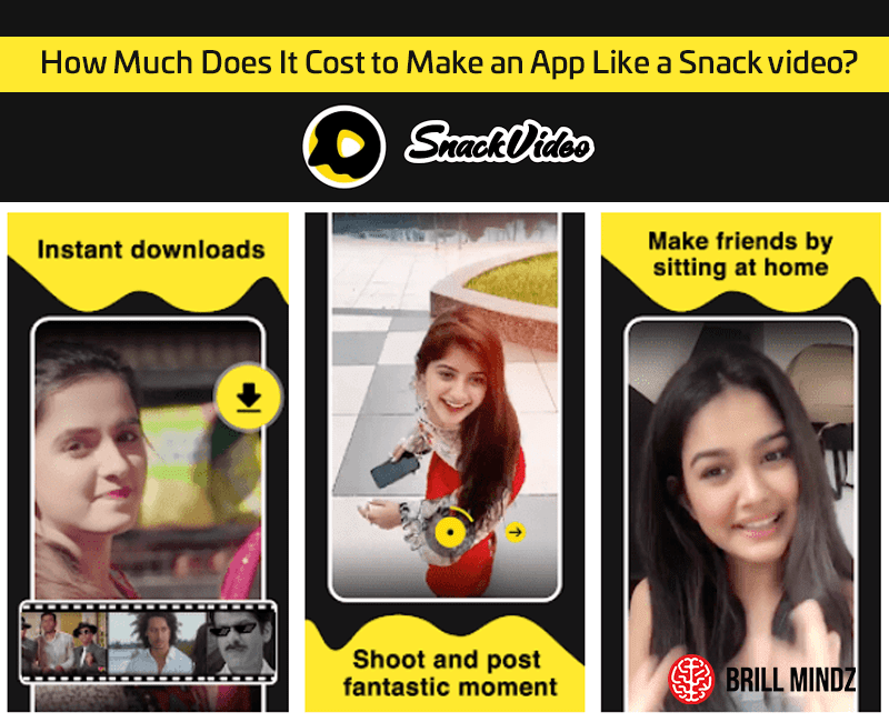 How Much Does It Cost to Make an App Like a Snack video