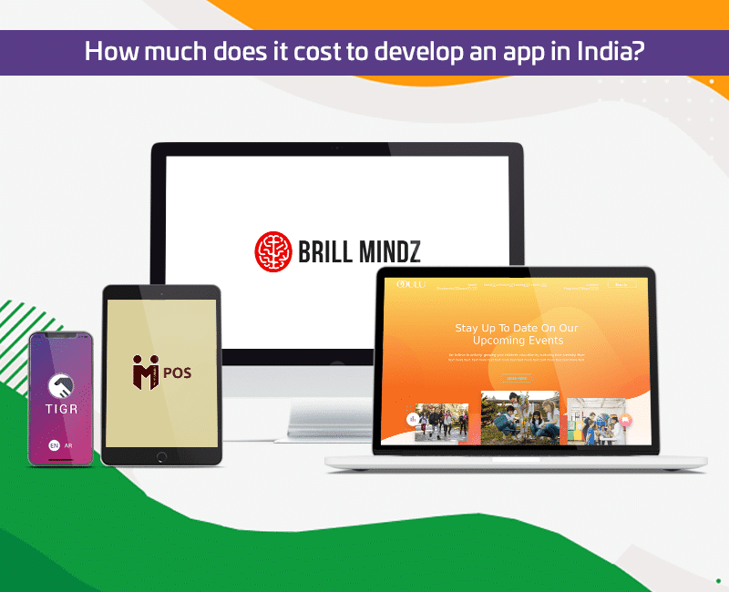 How much does it cost to develop an app in India?