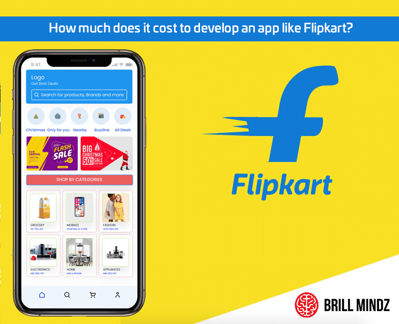 How much does it cost to develop an app like Flipkart